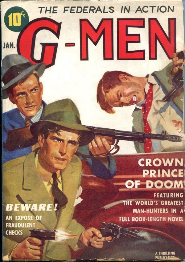 G-Men January 1939