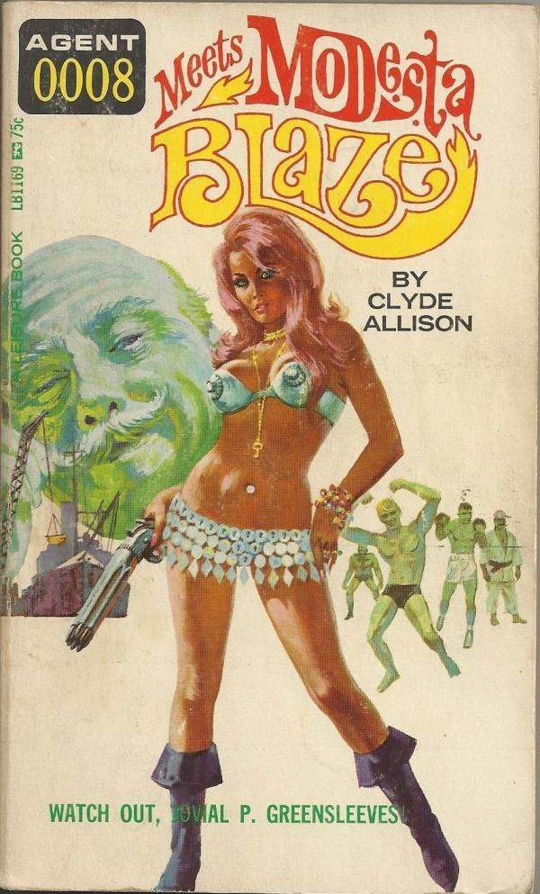 Leisure Books #LB-1169 1966