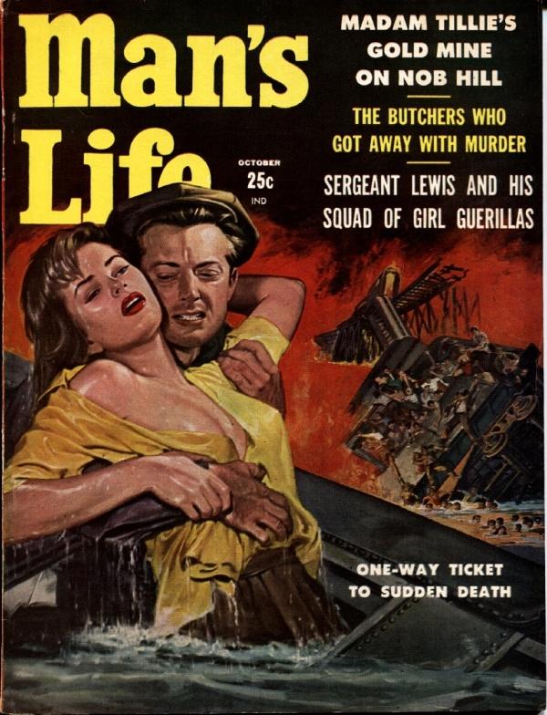Man's Life October 1958