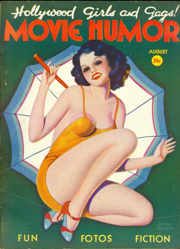 Movie Humor, August 1938