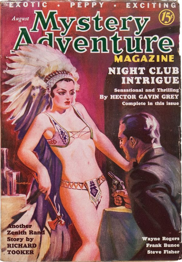 Mystery Adventure Magazine - August 1936