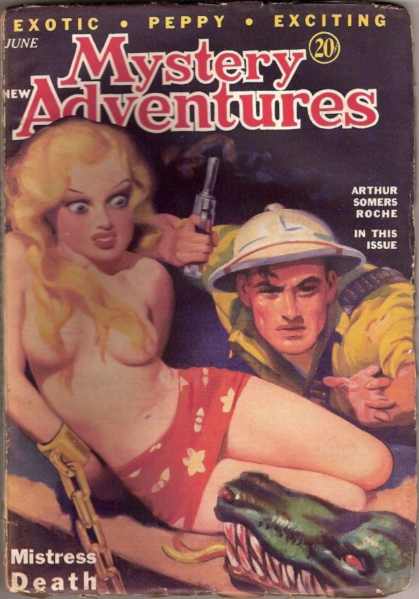 New Mystery Adventures June 1935