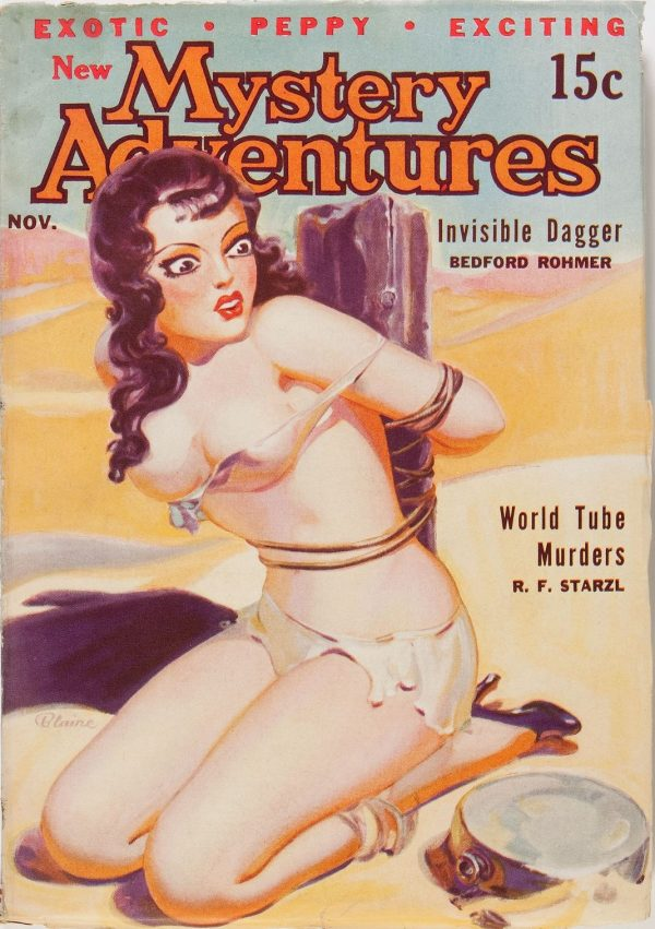 New Mystery Adventures - November 1935