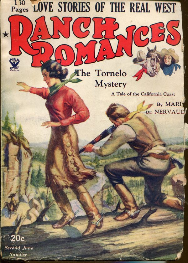Ranch Romances Western Pulp June Number 1935