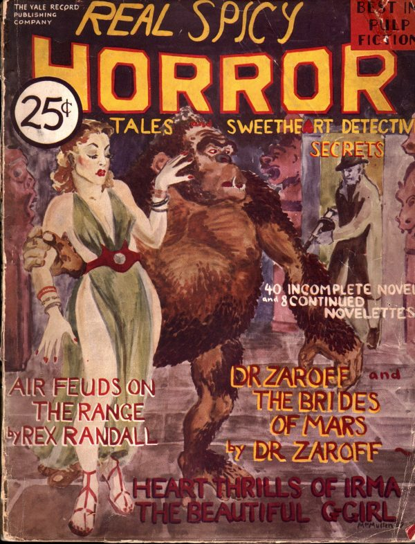 Real Spicy Horror Tales April 1937