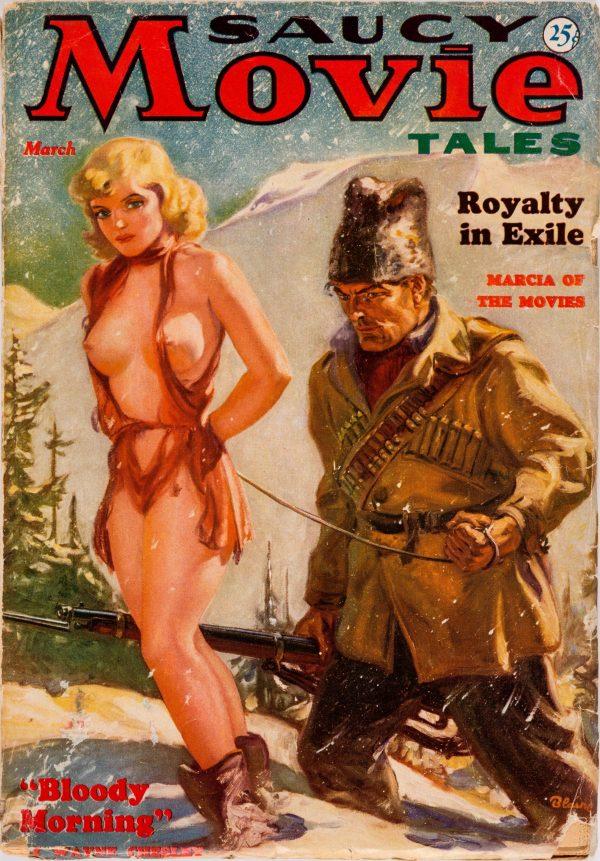 Saucy Movie Tales Magazine March 1937