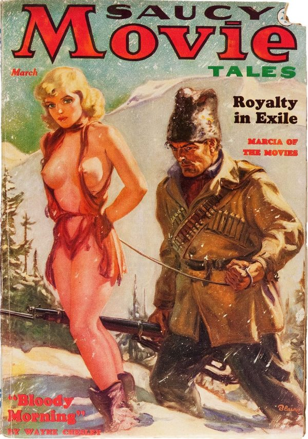Saucy Movie Tales - March 1937
