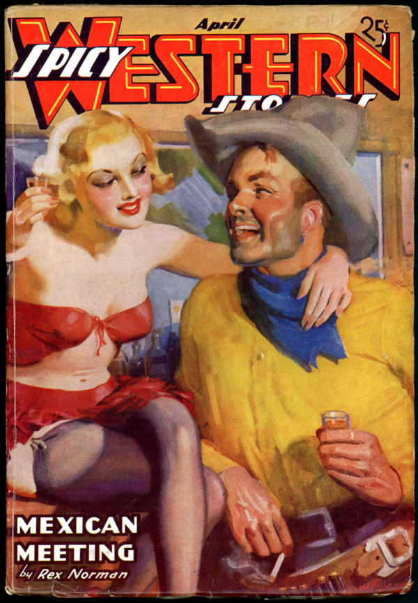 Spicy Western April 1937