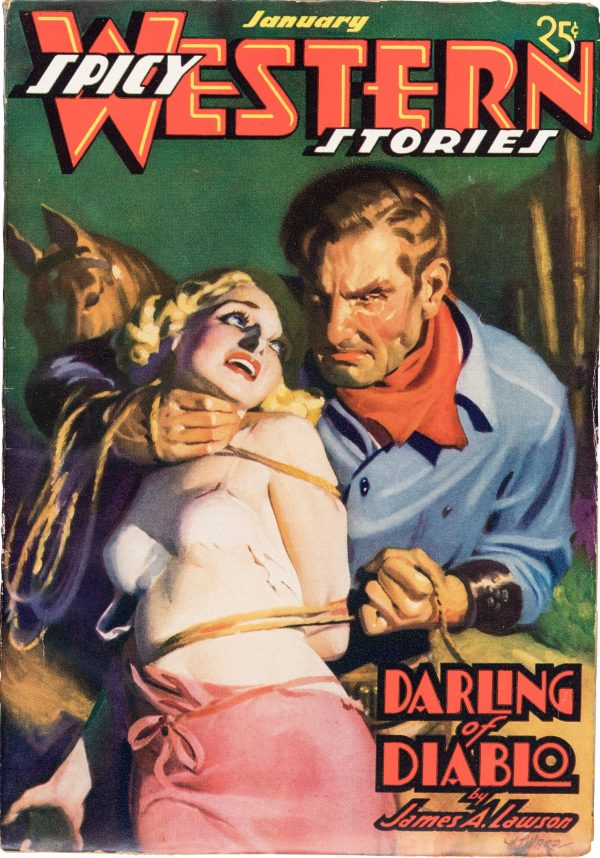 Spicy Western - January 1937