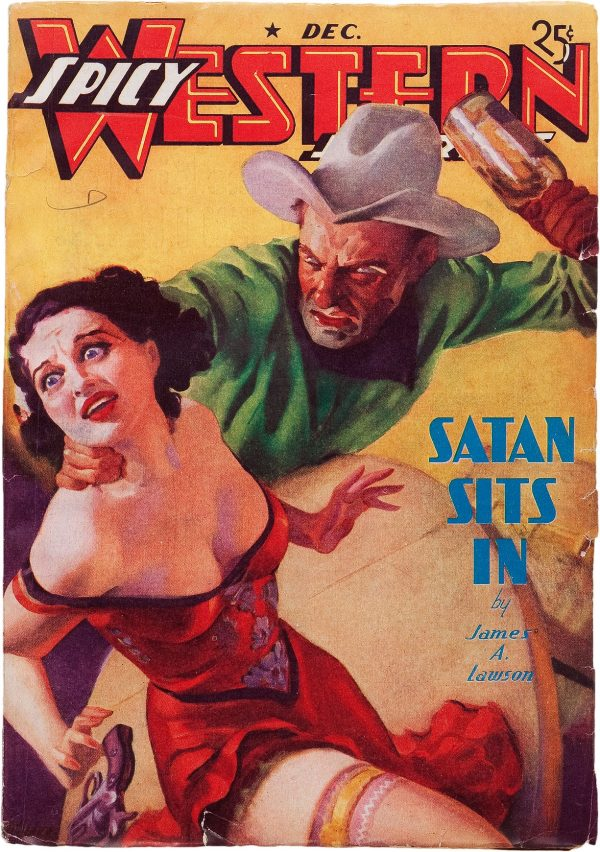 Spicy Western Stories - December 1937