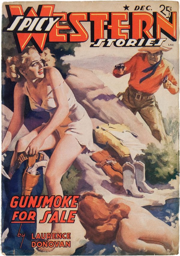 Spicy Western Stories - December 1941
