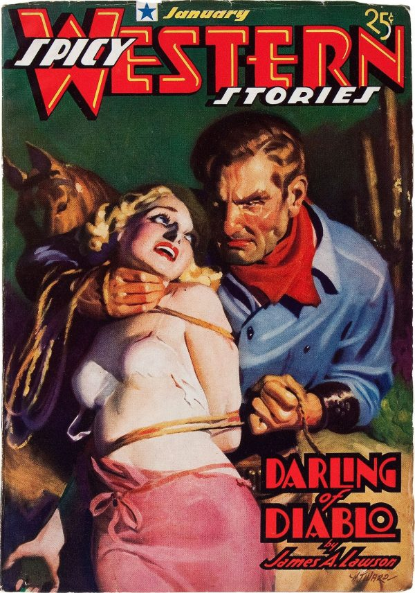 Spicy Western Stories - January 1937