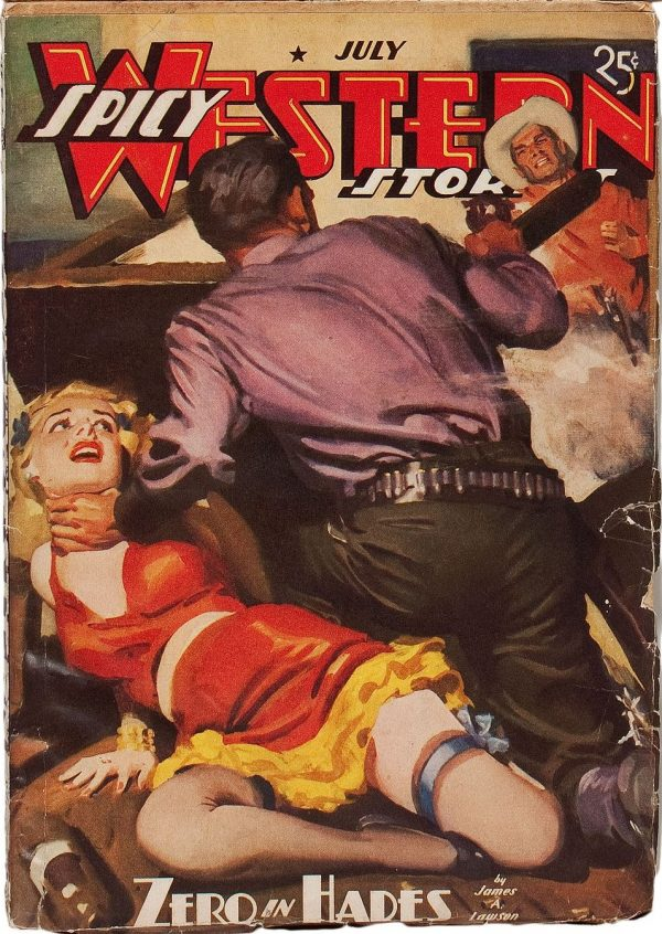 Spicy Western Stories - July 1939