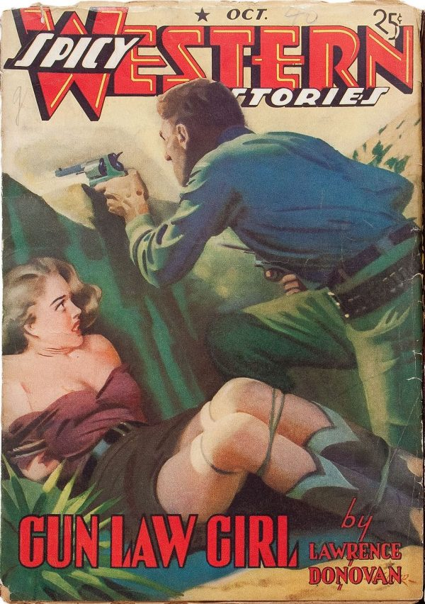Spicy Western Stories - October 1940
