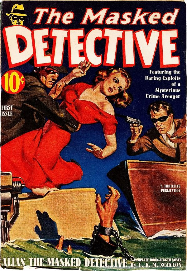 The Masked Detective V1#1, 1940