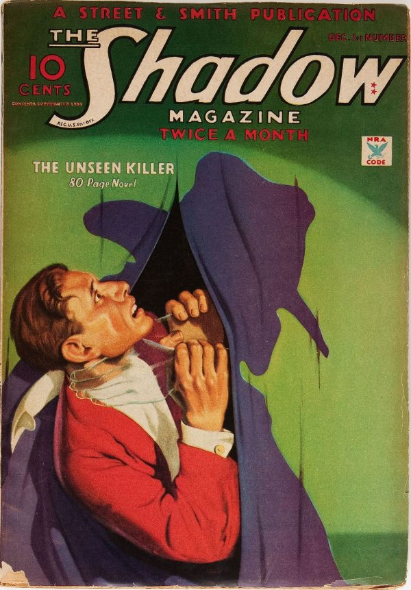 The Shadow December 1934