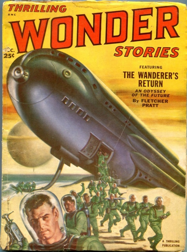 Thrilling Wonder Stories, December 1951