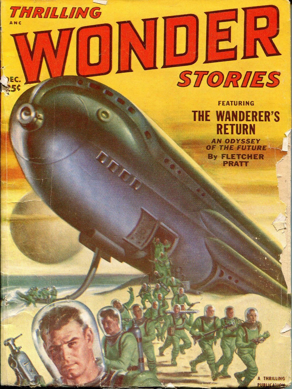 Thrilling Wonder Stories November 1953 Dwight Swain Kendell Foster Crossen