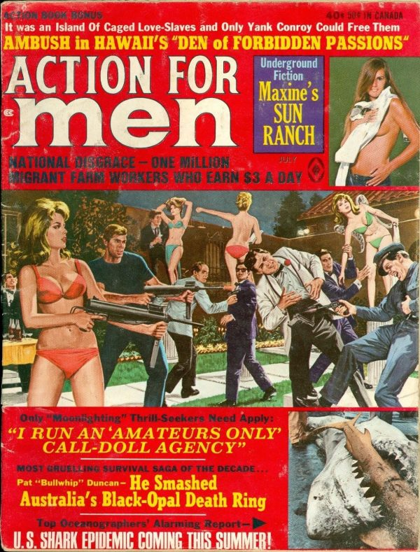 Action for Men, July 1970