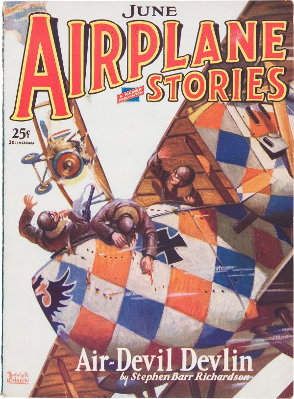 Airplane Stories June 1929