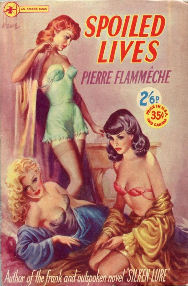 Archer Books No. 96 (1951),  Cover Art by Heade