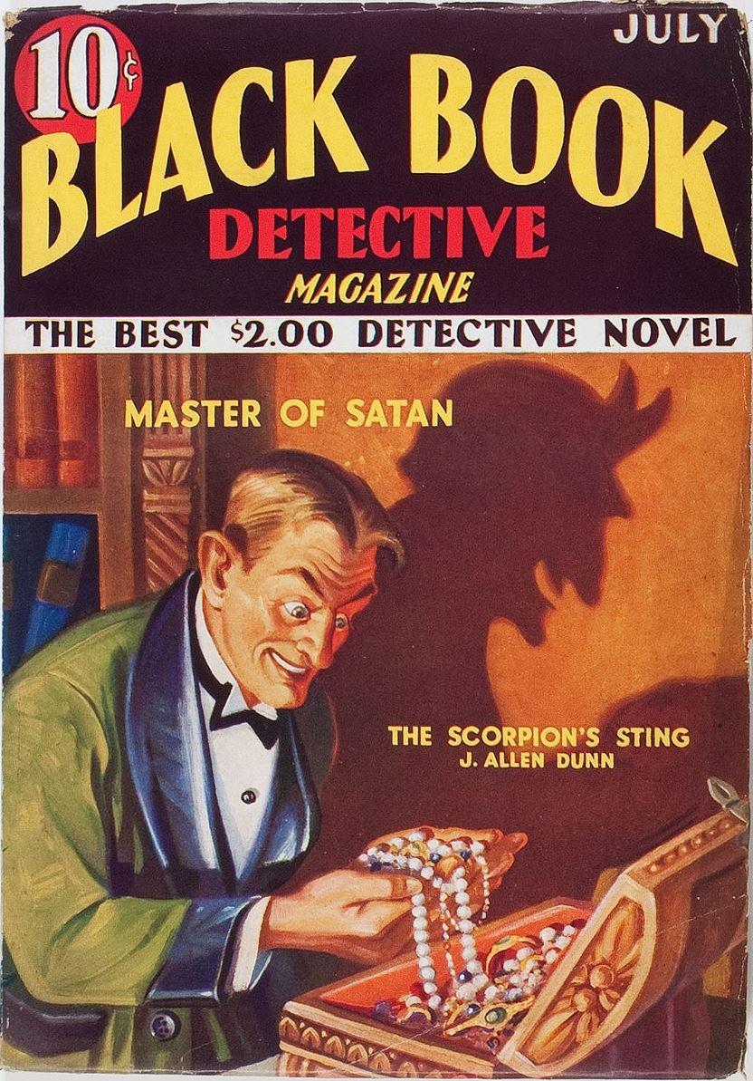 Black Book Detective - July 1933