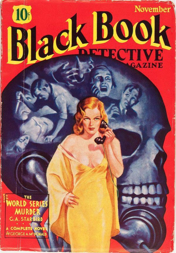Black Book Detective - November 1934