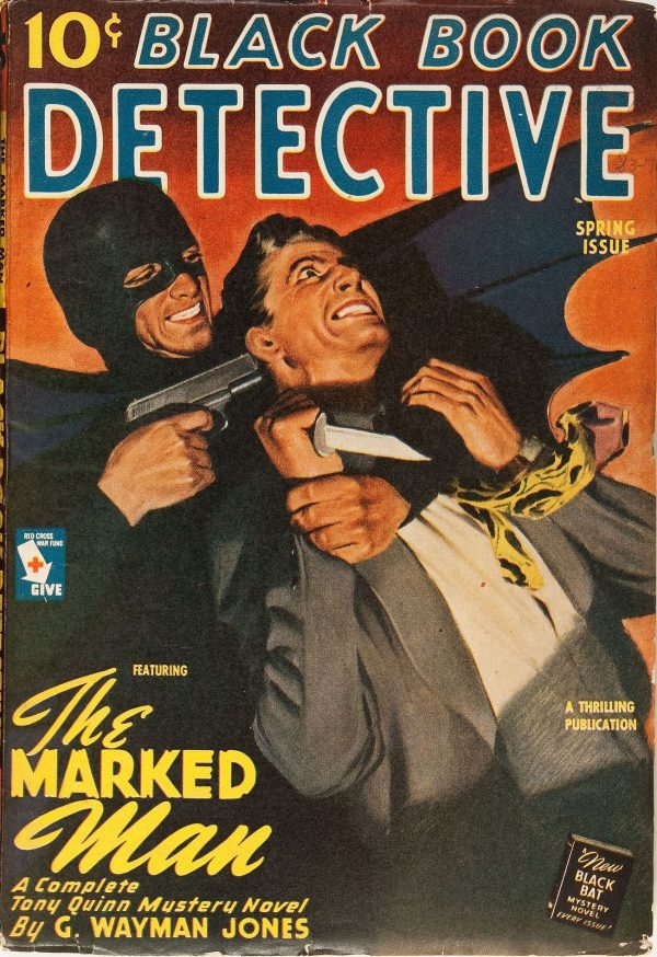 Black Book Detective Spring 1945