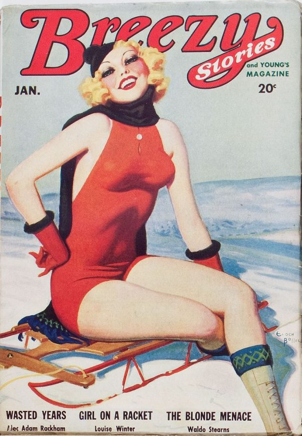 Breezy Stories January 1935