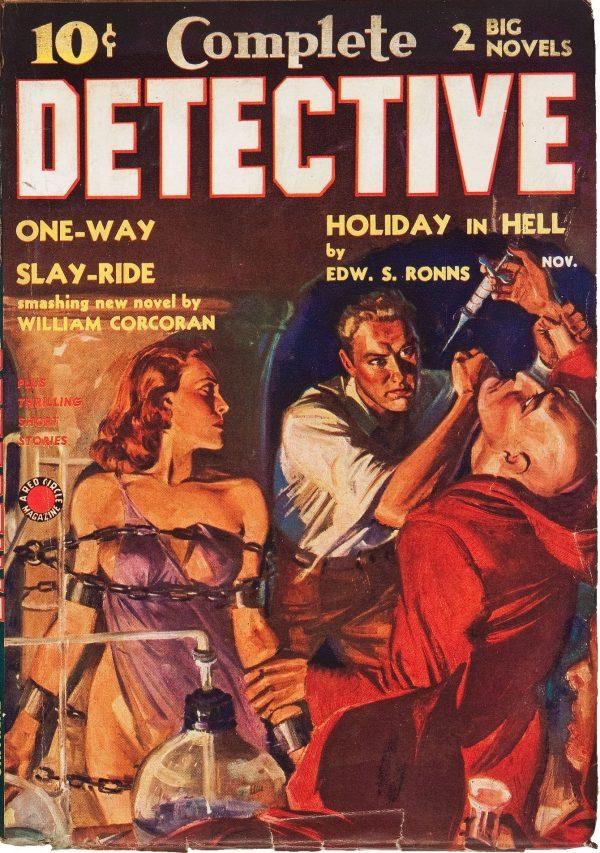 Complete Detective November 1938