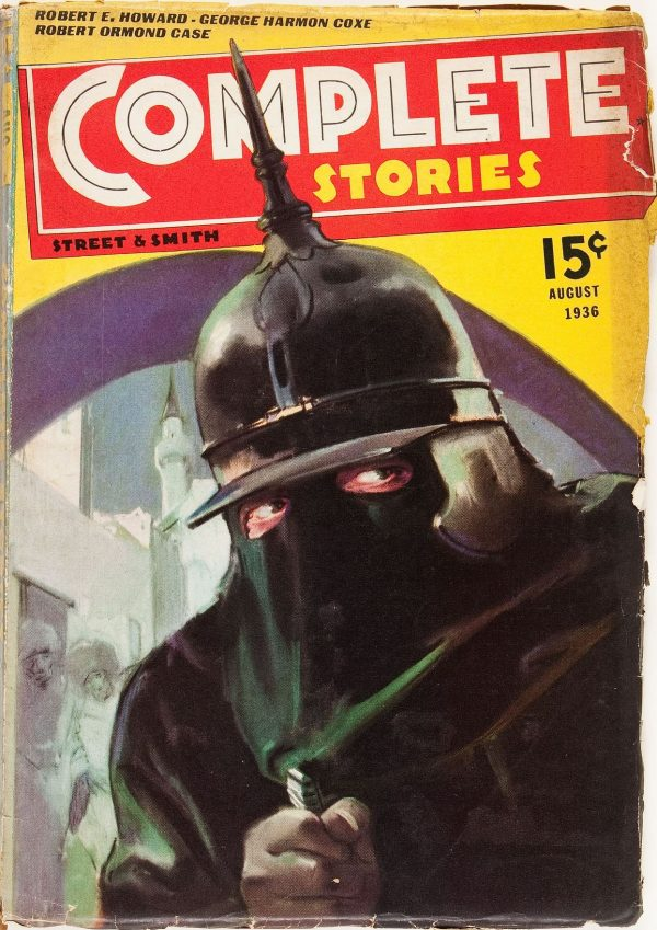 Complete Stories August 1936