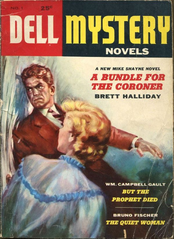 DELL MYSTERY NOVELS Magazine, January - March 1955