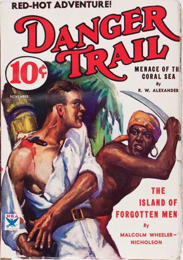 Danger Trail November 1933