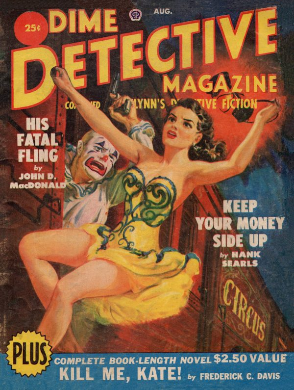 Dime Detective Magazine, August 1950