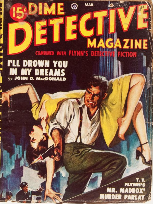 Dime Detective March 1949