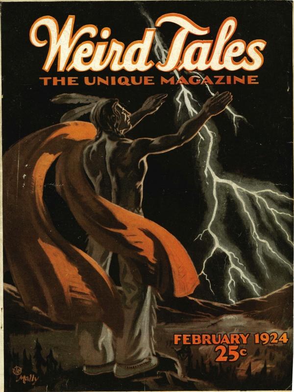 February 1924 Weird Tales