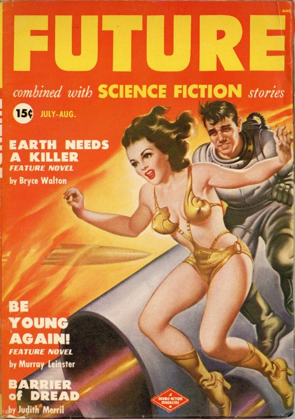 Future Combined with Science Fiction August 1950