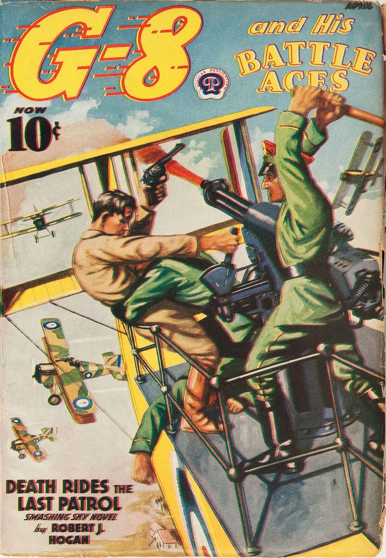 G-8 and His Battle Aces April 1939