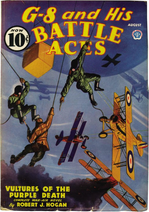 G-8 and His Battle Aces August 1936