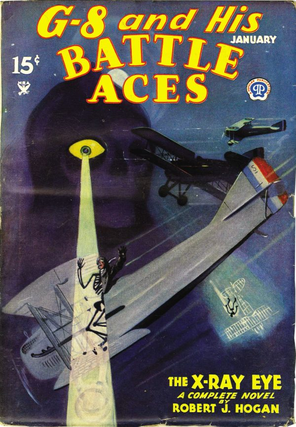 G-8 and His Battle Aces January 1935