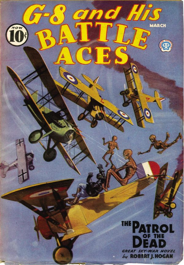 G-8 and His Battle Aces March 1936