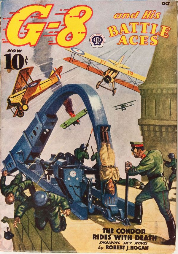 G-8 and His Battle Aces October 1938