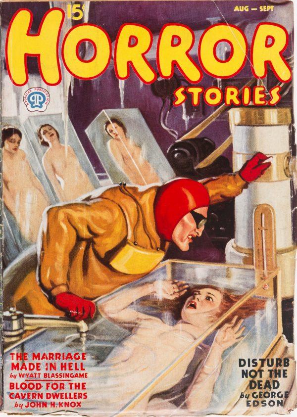 Horror Stories - August September 1937