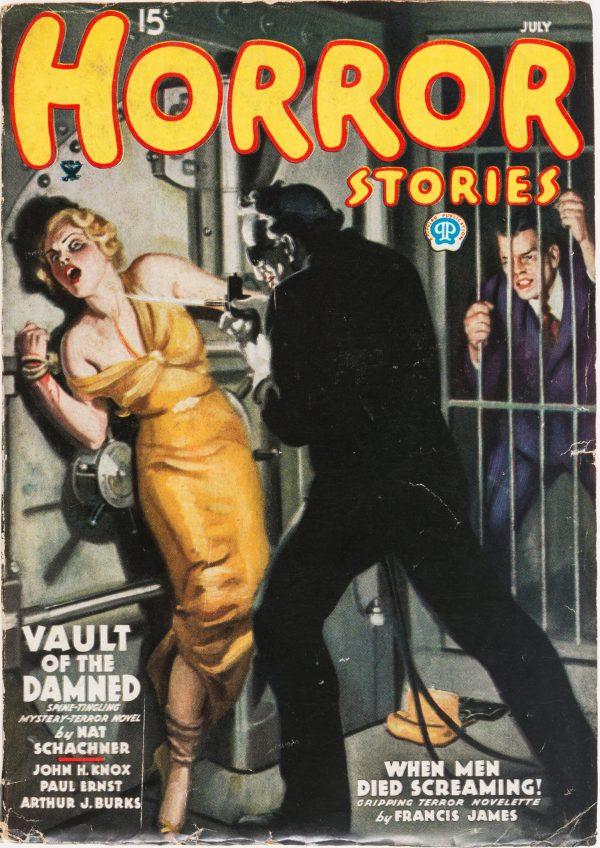 Horror Stories Magazine - July 1935