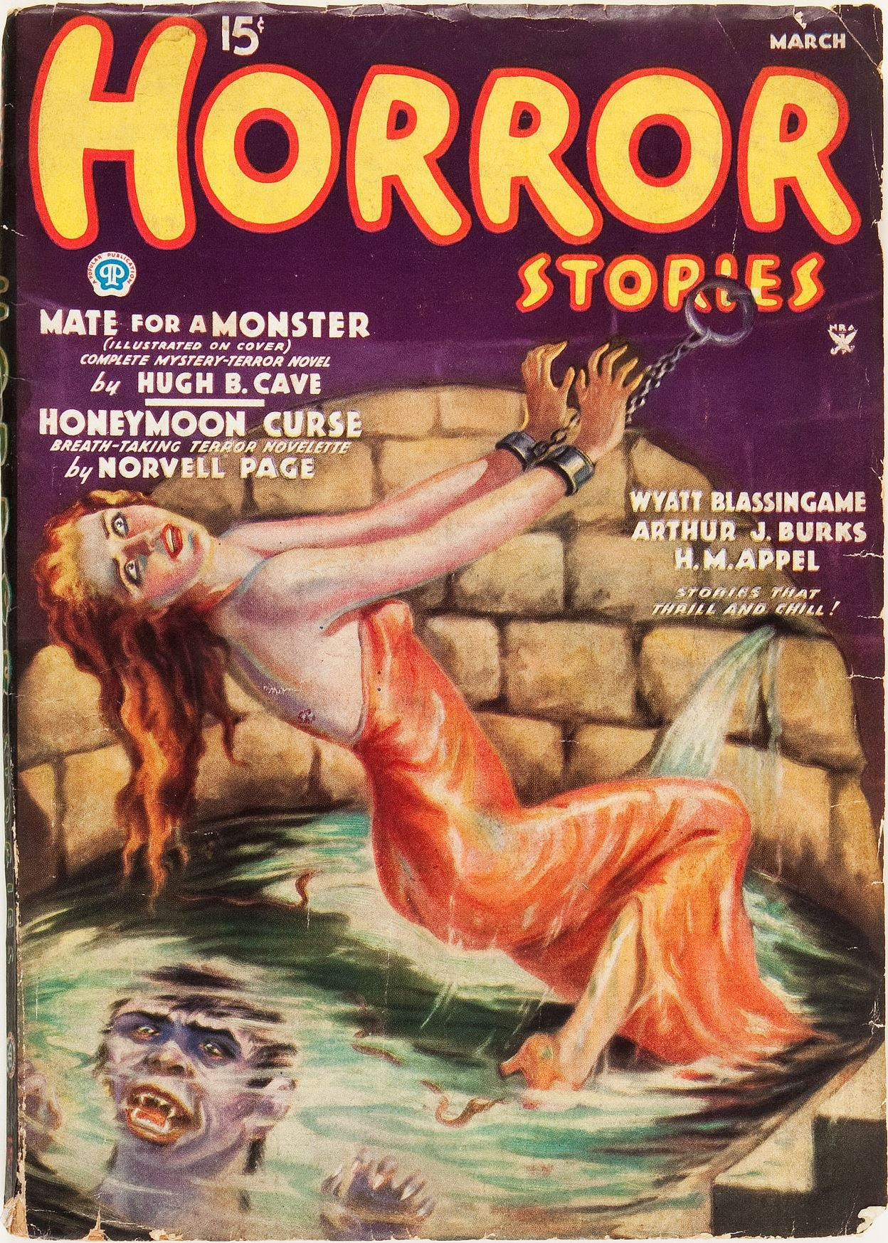 Horror Stories - March 1935
