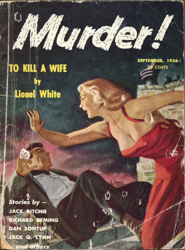 MURDER! Magazine, Sept 1956