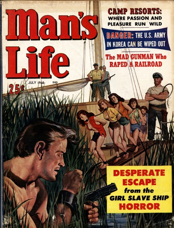 Man's Life July 1960