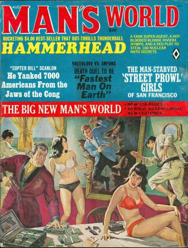 Man's World, August 1966