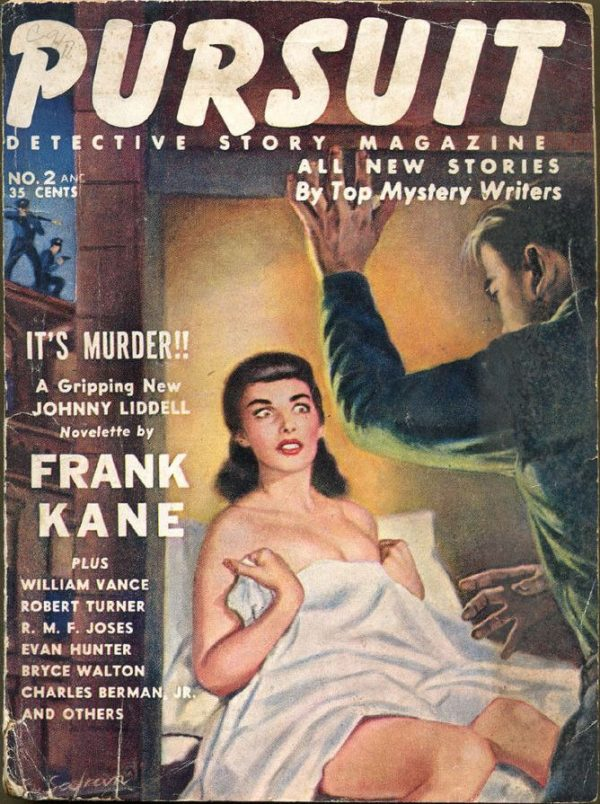 PURSUIT Detective Story Magazine, November 1953
