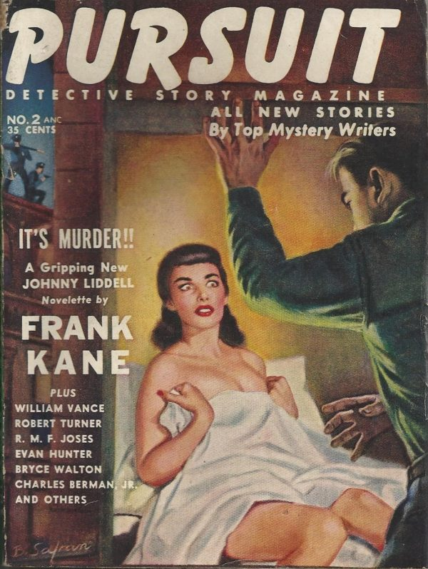 Pursuit Detective Story Magazine #2 November 1953
